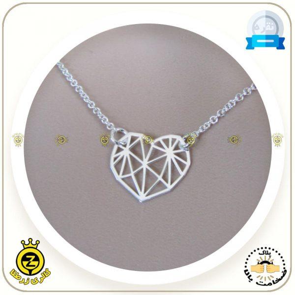 مدال-قلب-اوریگامی