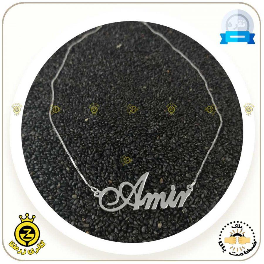 پلاک-اسم-Amir