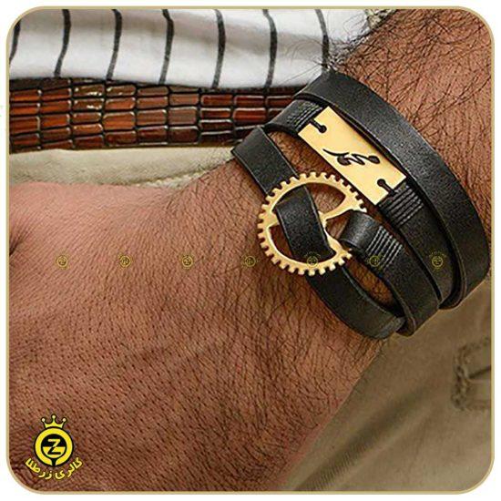 دستبند-چرمی-مردانه