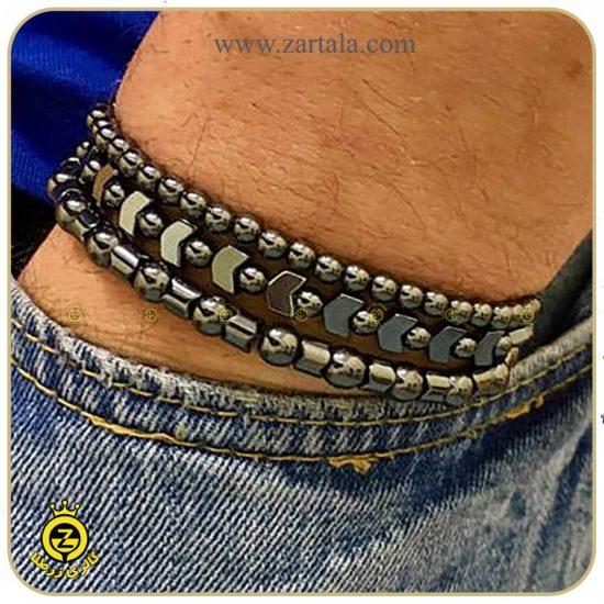 دستبند-مردانه-ی-حدید