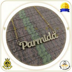 پلاک اسم پارمیدا