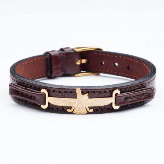 انواع مدل های دستبند چرم و طلای مردانه